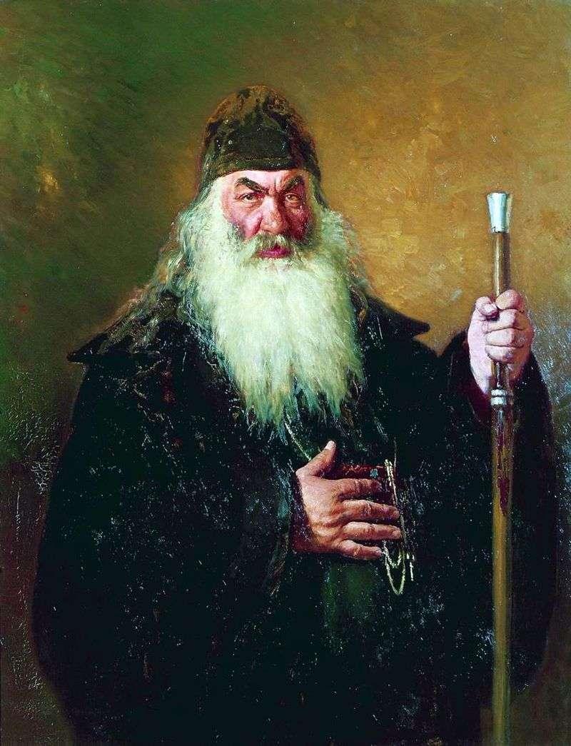 Portret Protodeacona   Ilya Repin