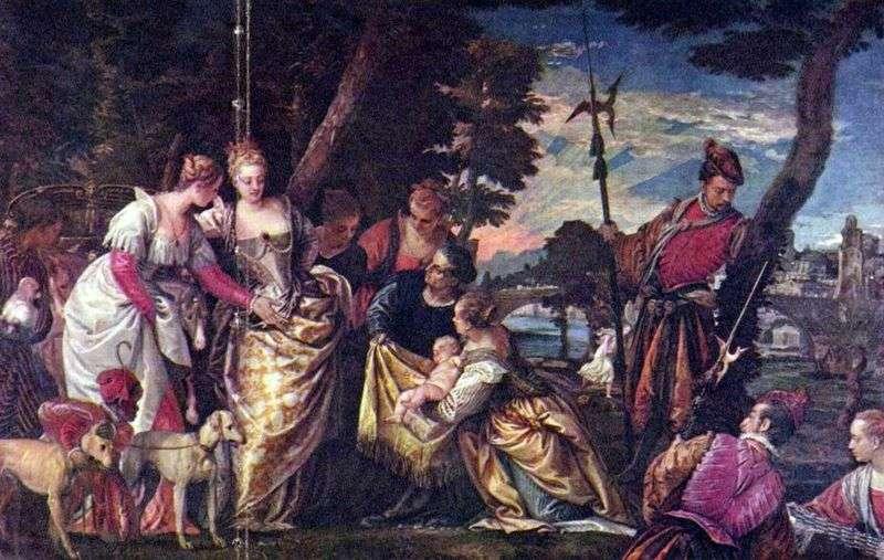 Znalezienie Mojżesza   Paolo Veronese
