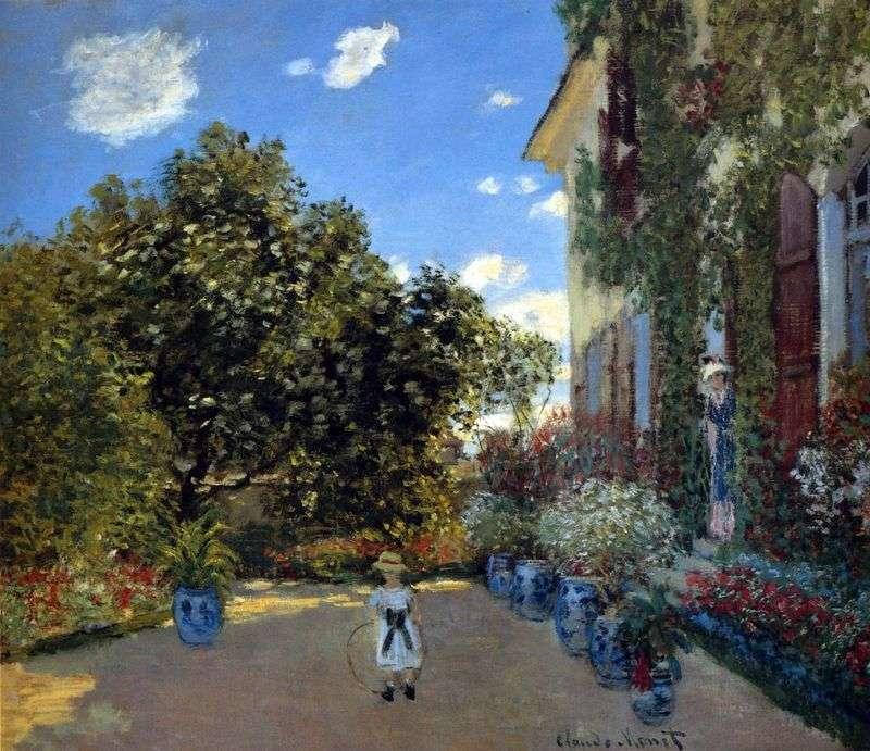 Dom artystów w Argenteuil   Claude Monet