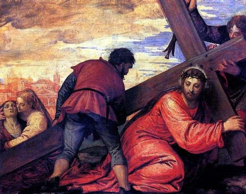 Przenoszenie Krzyża   Paolo Veronese