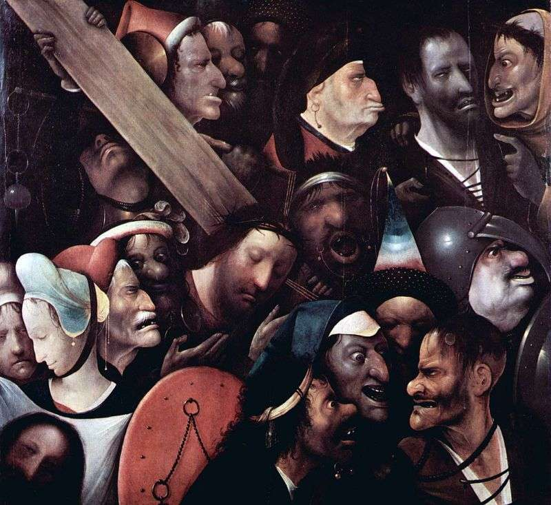 Przenoszenie krzyża   Hieronim Bosch