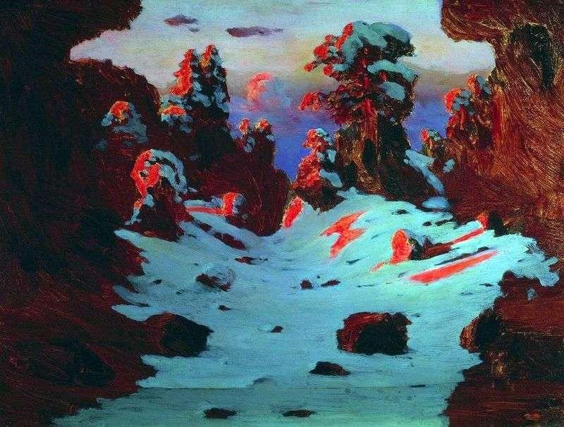 Efekt słońca   Arkhip Kuindzhi