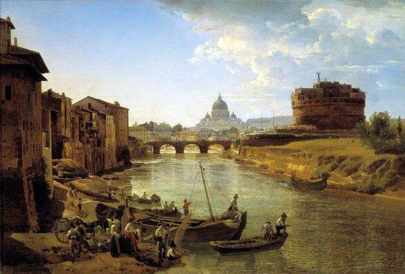 Nowy Rzym. Zamek Świętego Anioła   Sylvester Szczedrin
