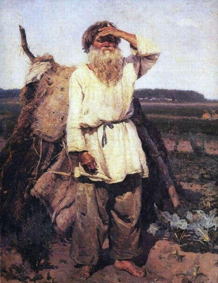 Stary ogrodnik   Wasilij Surikow