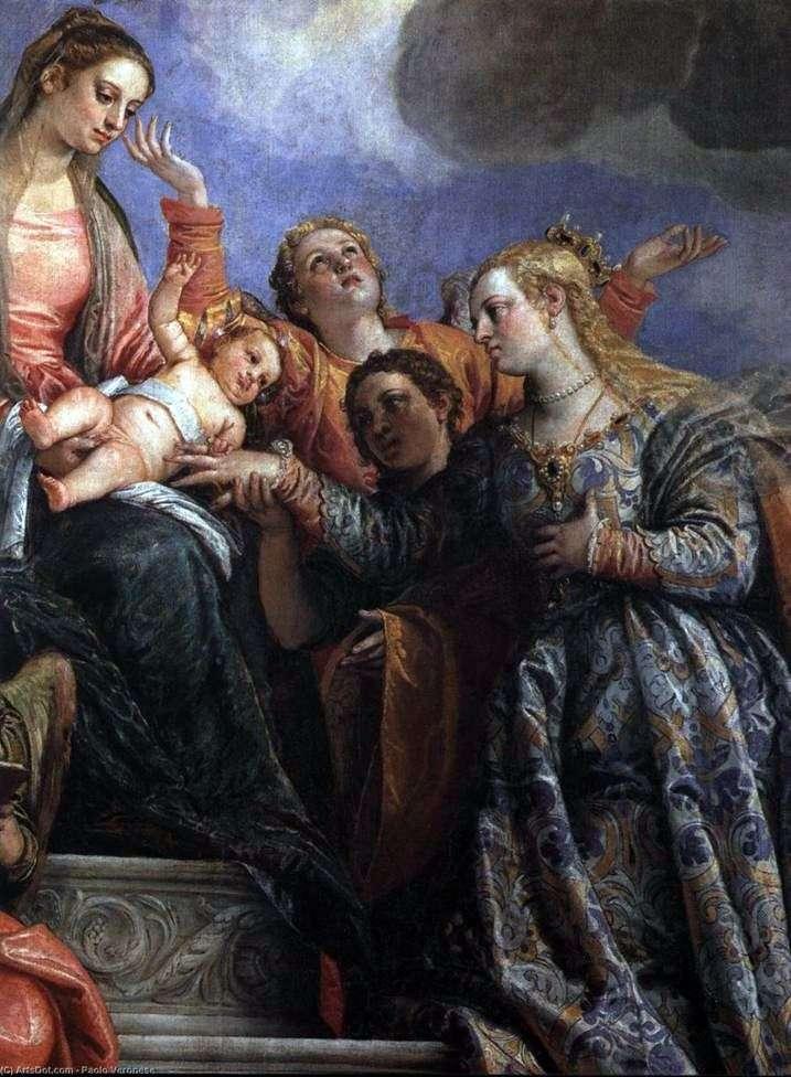 Zaręczyny Świętej Katarzyny   Paolo Veronese