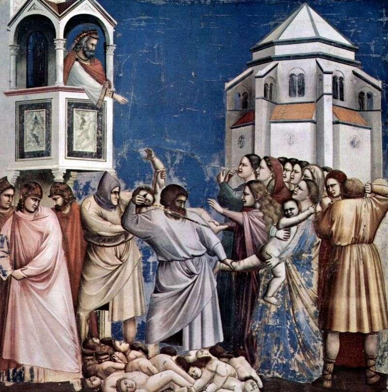 Bicie dzieci   Giotto