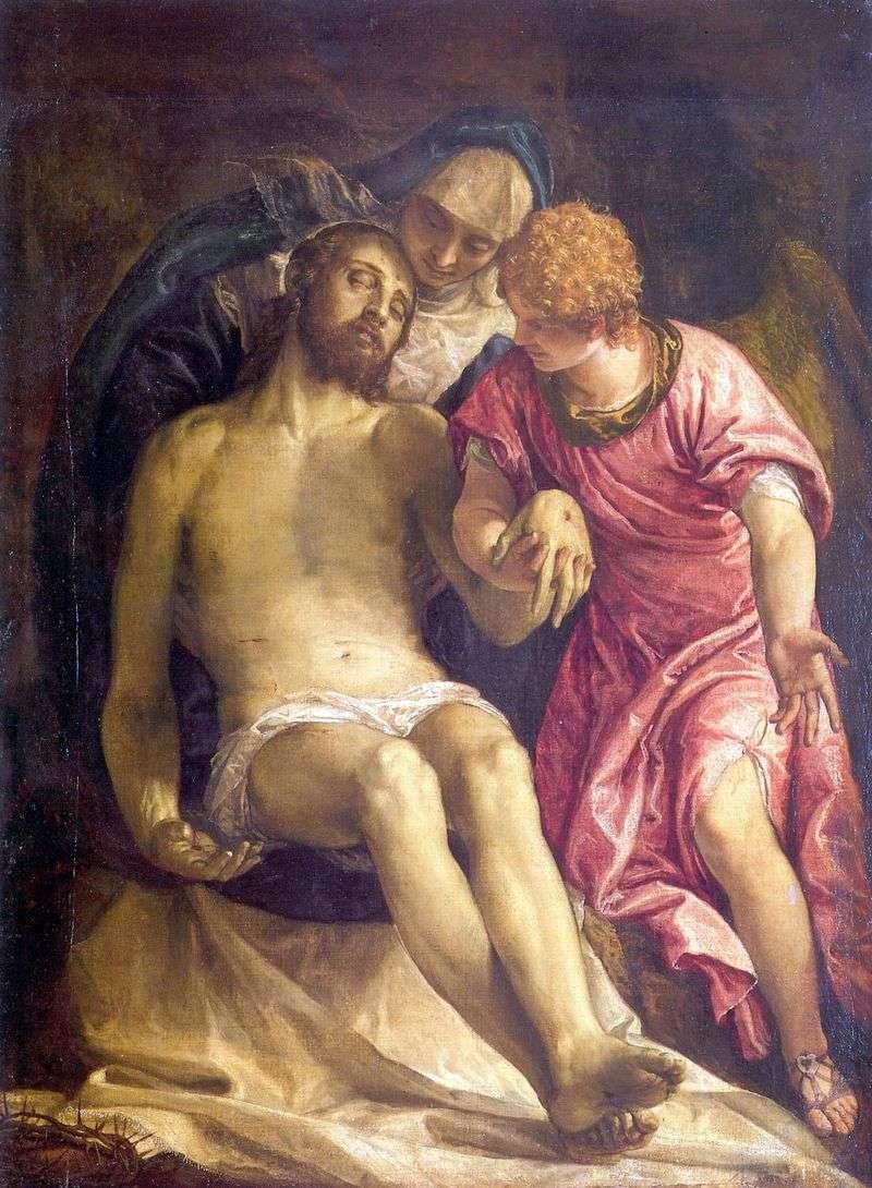 Lamentacja Chrystusa   Paolo Veronese