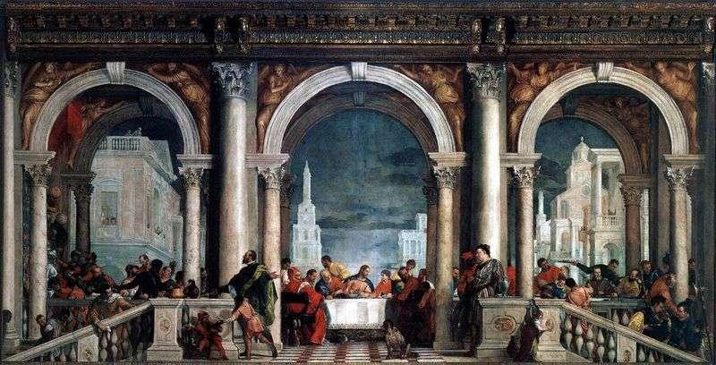 Uczta w domu Lewiego   Paolo Veronese