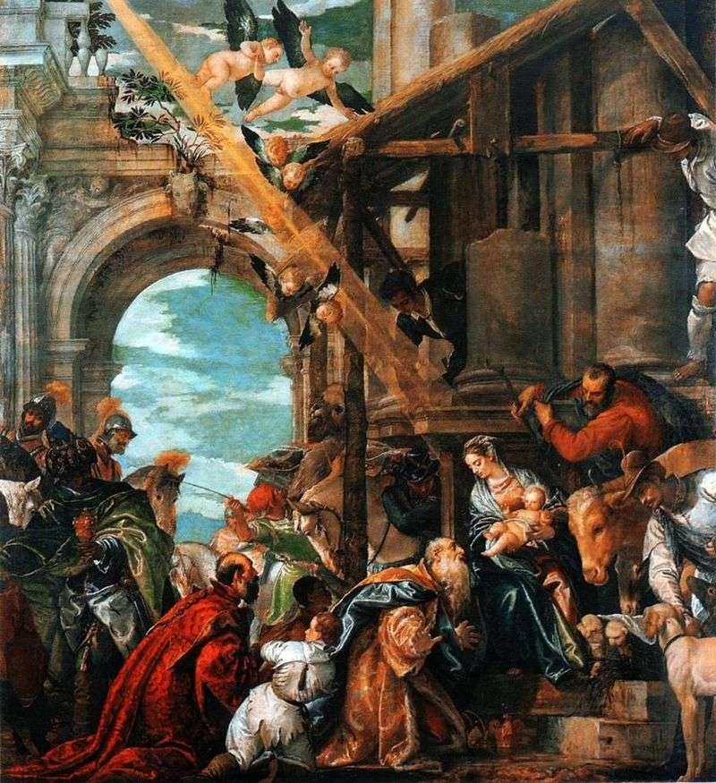 Pokłon Trzech Króli   Paolo Veronese