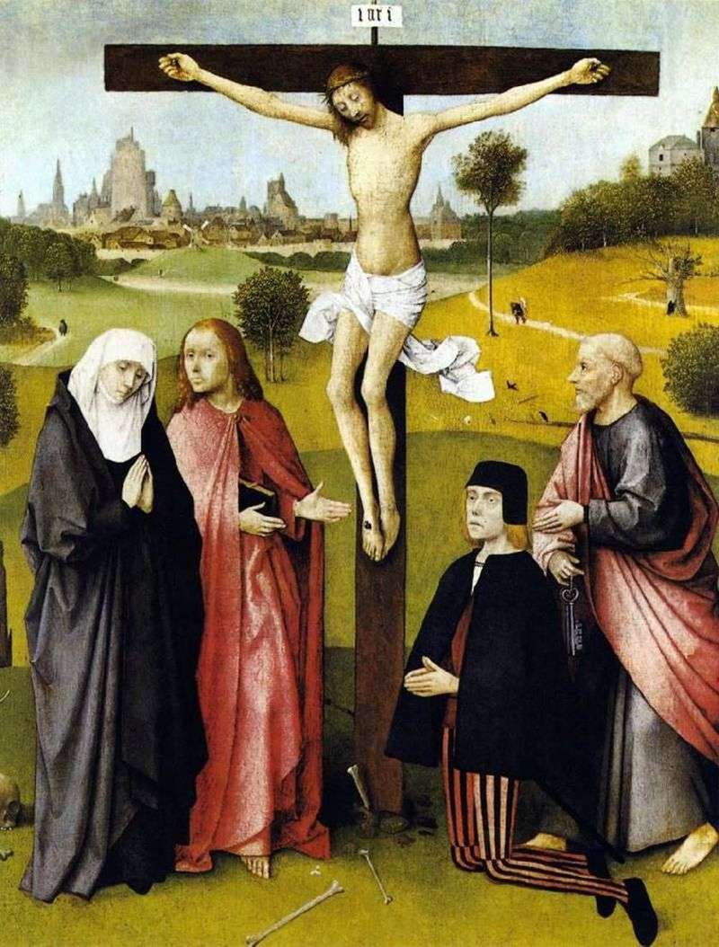 Ukrzyżowanie Chrystusa   Jerome Bosch