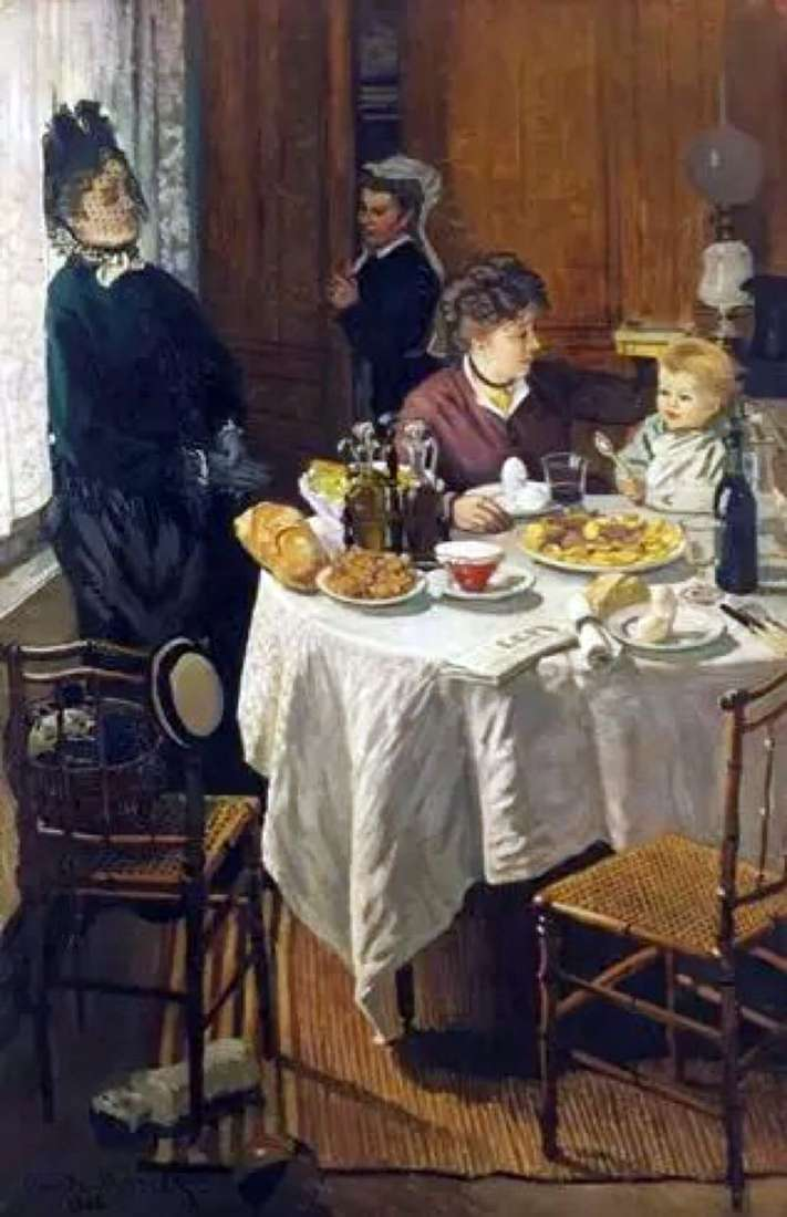 Śniadanie   Claude Monet