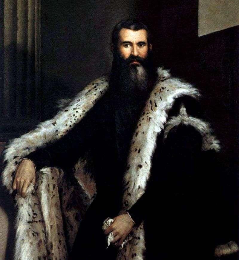 Portret Daniele Barbaro   Paolo Veronese