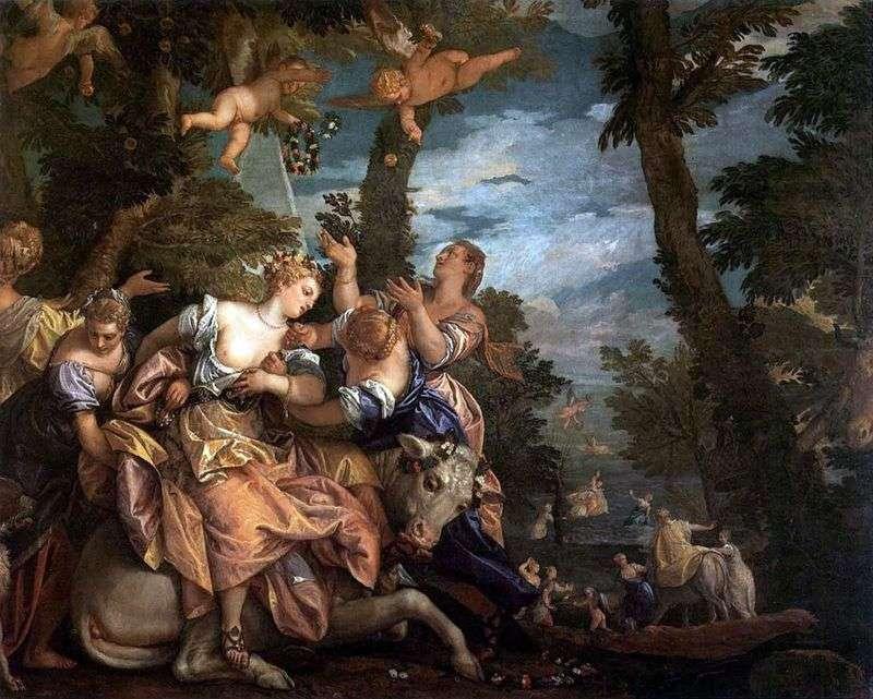 Porwanie Europy   Paolo Veronese