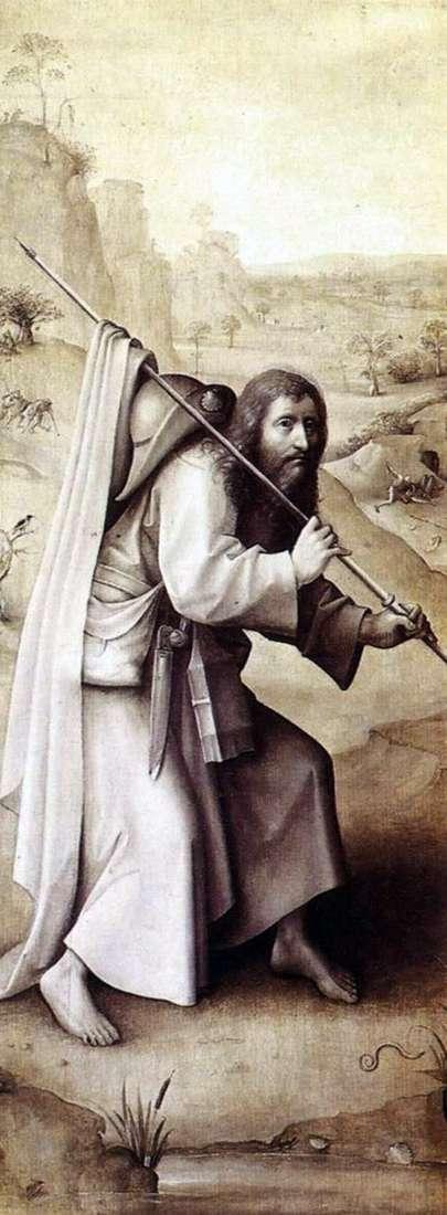 Święty Jakub Starszy   Hieronim Bosch
