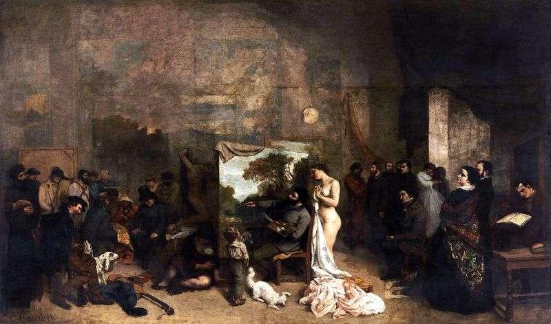 Warsztaty artystyczne   Gustave Courbet