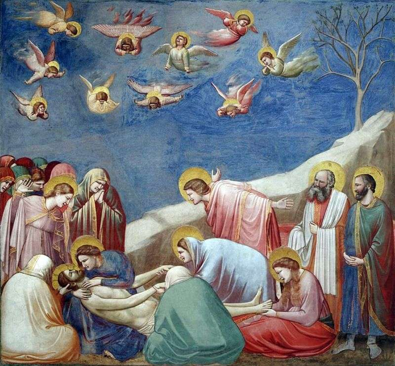 Lamentacja Chrystusa   Giotto