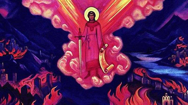 Ostatni anioł   Nicholas Roerich