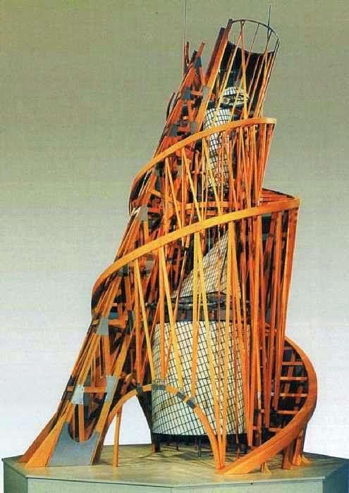 Wieża Model pomnika III Międzynarodówki   Władimir Tatlin
