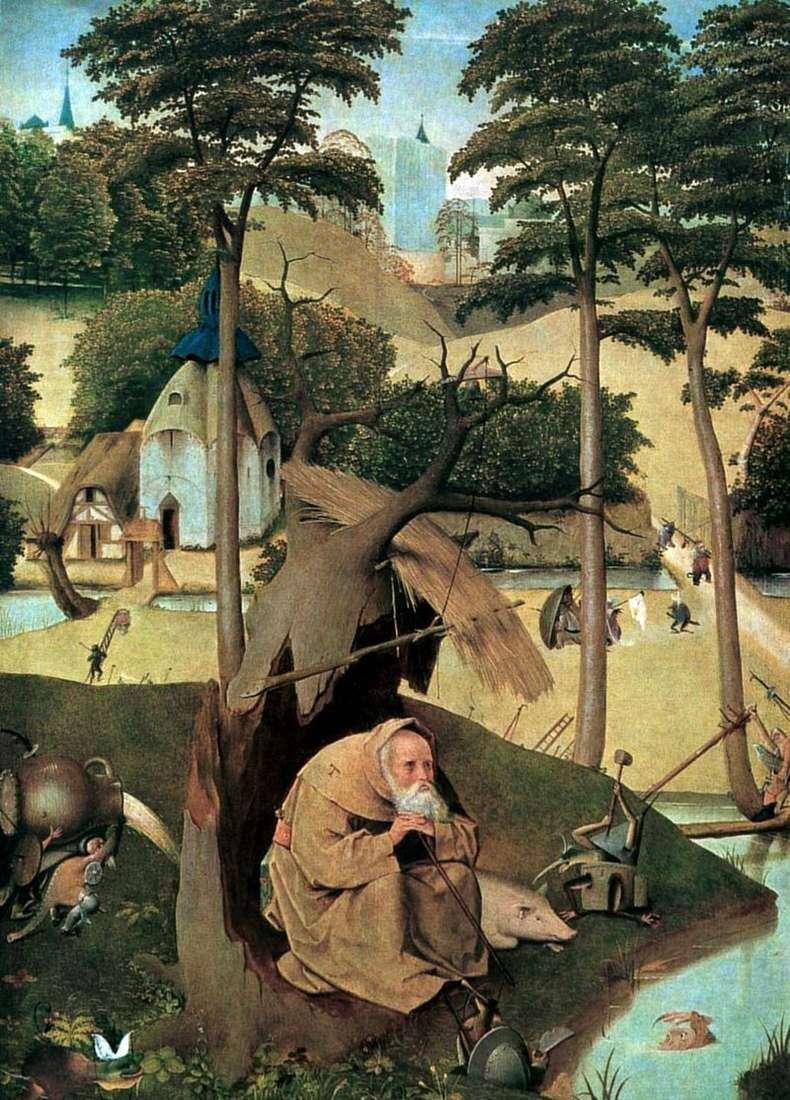 Święty Antoni   Hieronim Bosch