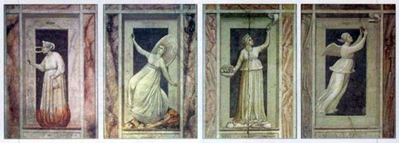 Vices and Virtues   Giotto