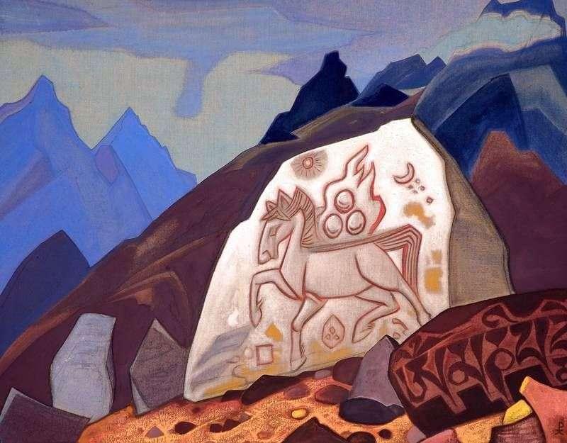 Biały kamień   Nicholas Roerich