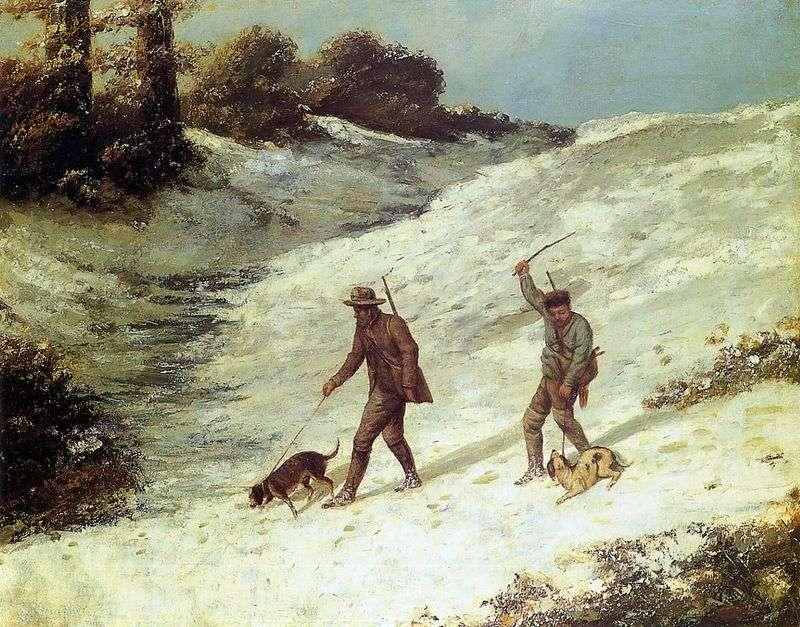 Sceny myśliwskie   Jean Desire Gustave Courbet