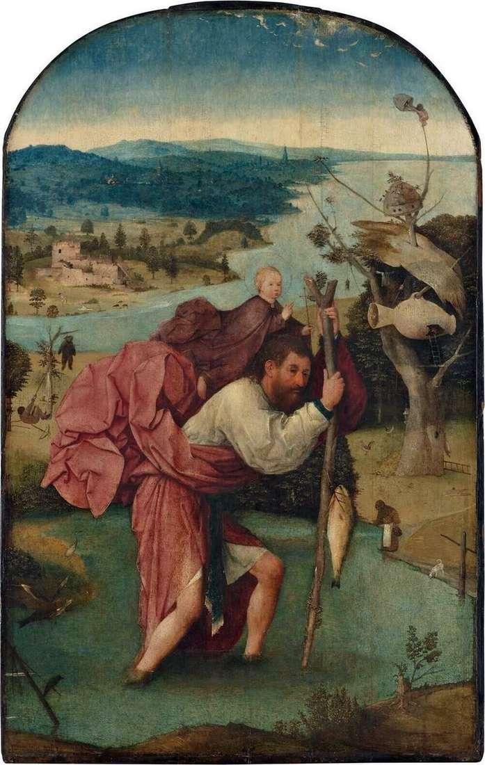 Święty Krzysztof   Hieronim Bosch