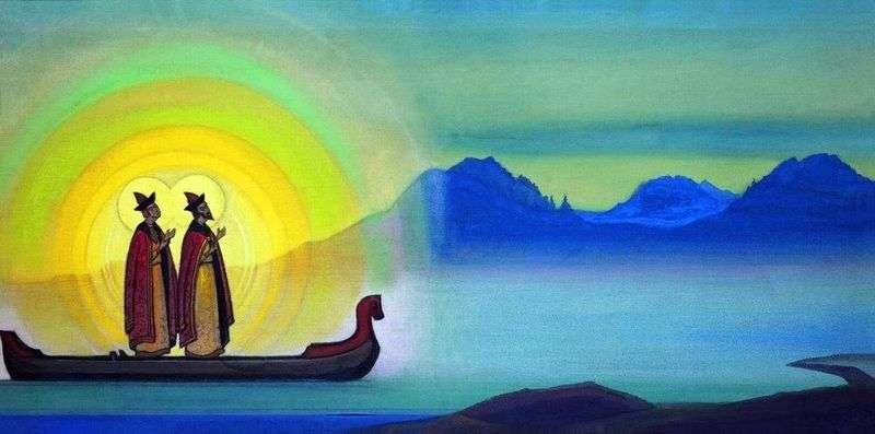Borys i Gleb   Nikolay Roerich