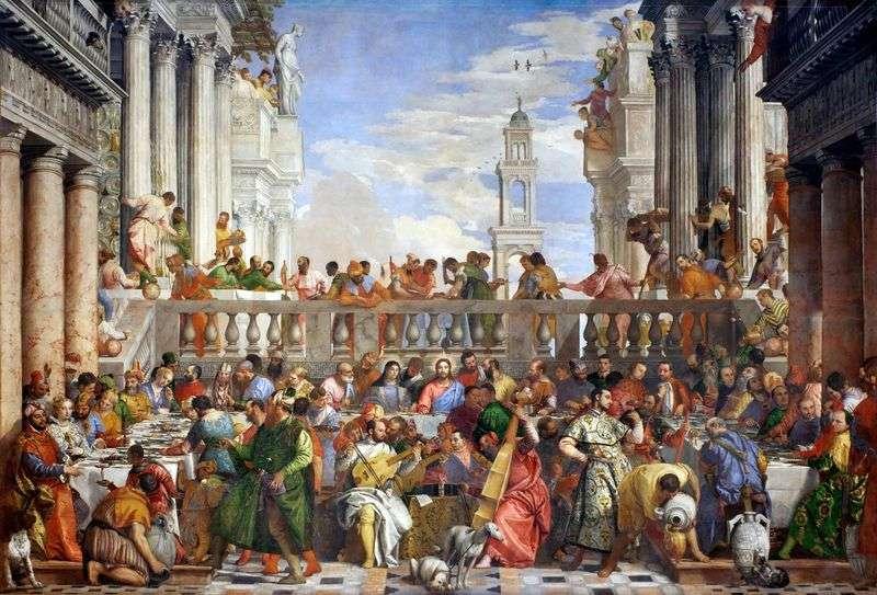 Ślub w Kanie   Paolo Veronese