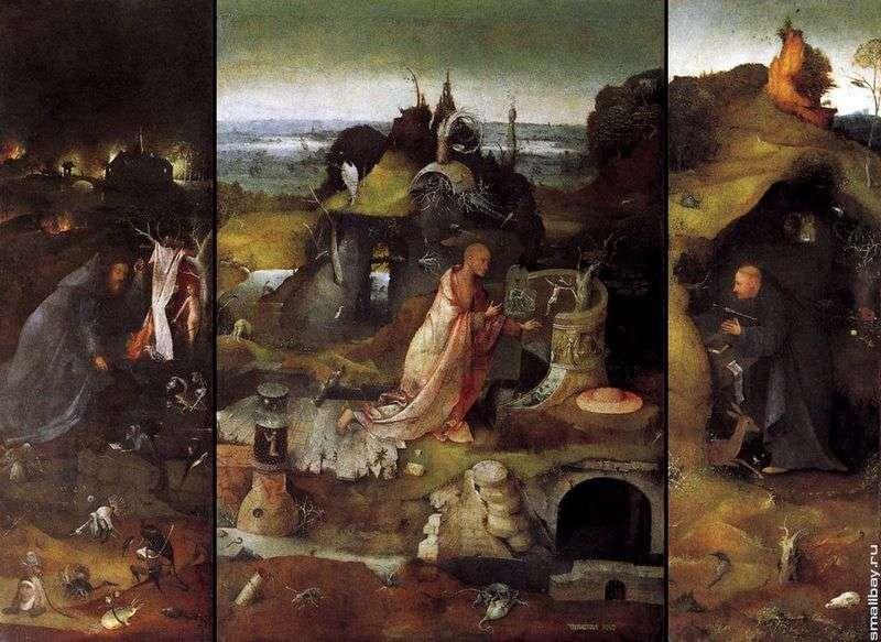 Święci pustelnicy. Tryptyk   Hieronymus Bosch