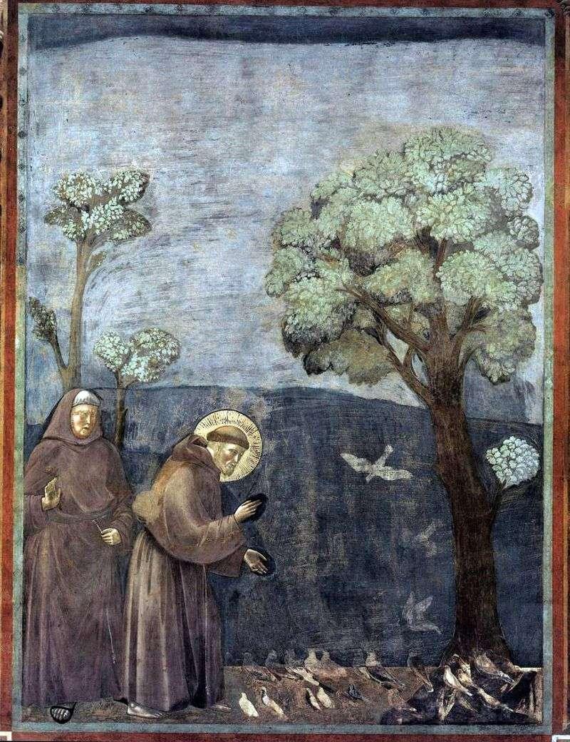 Kazanie do ptaków   Giotto
