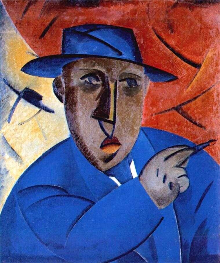 Portret artysty   Władimir Tatlin