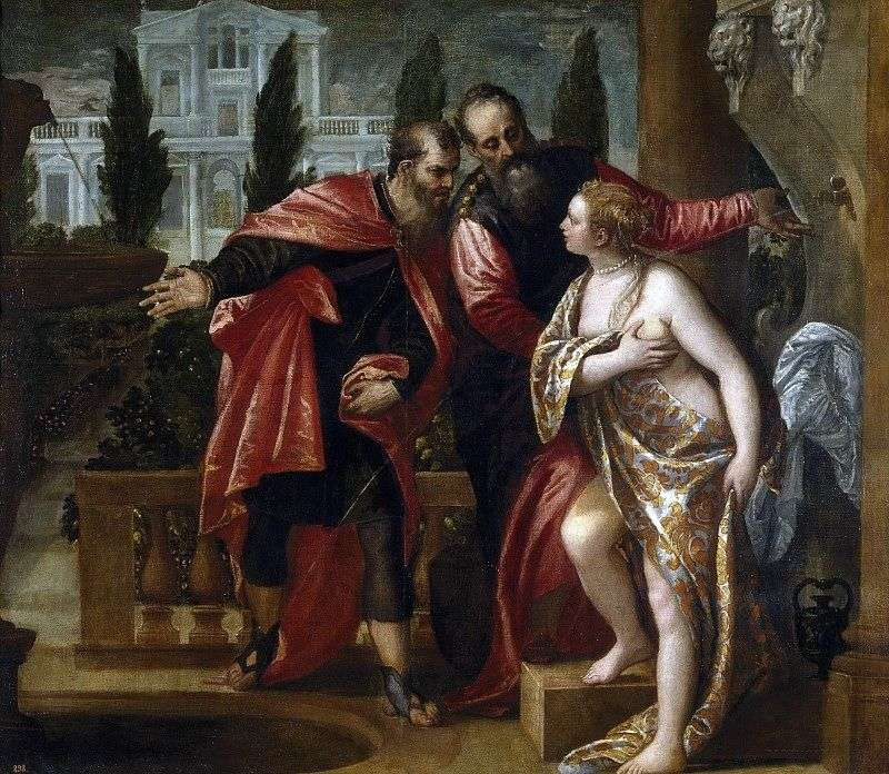 Zuzanna i starsi   Paolo Veronese
