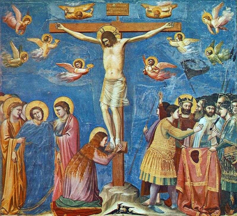 Ukrzyżowanie (Cappella del Arena)   Giotto