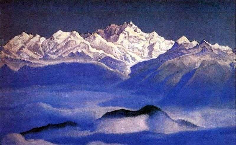 Himalaje (Góry Błękitne)   Nicholas Roerich