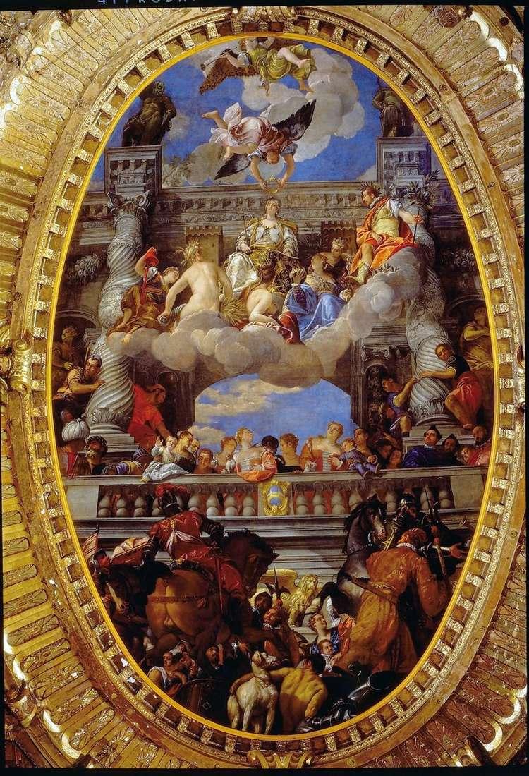 Triumph of Venice   Paolo Veronese