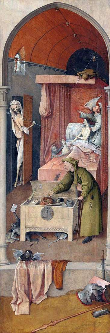 Śmierć i Miser   Hieronim Bosch