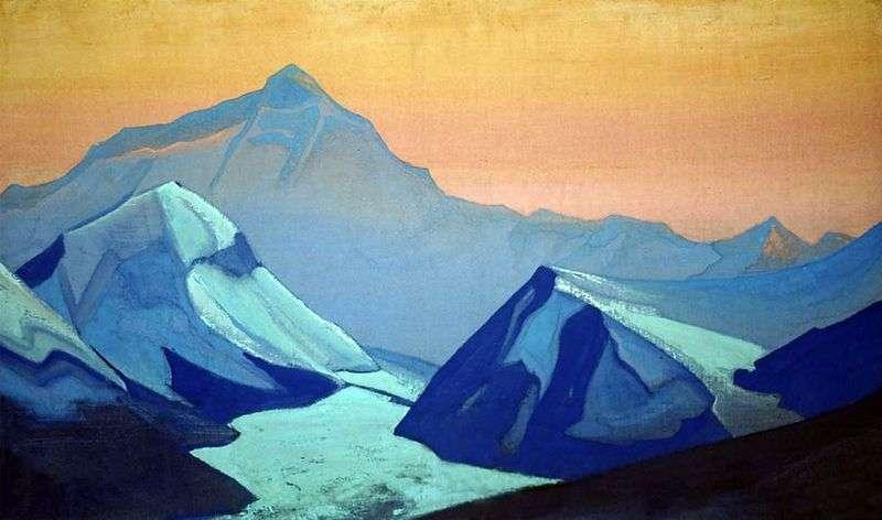 Himalaje Everest   Nicholas Roerich
