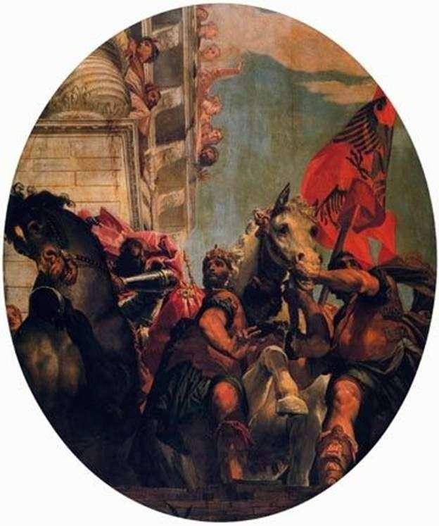 Triumph of Mordecai   Paolo Veronese