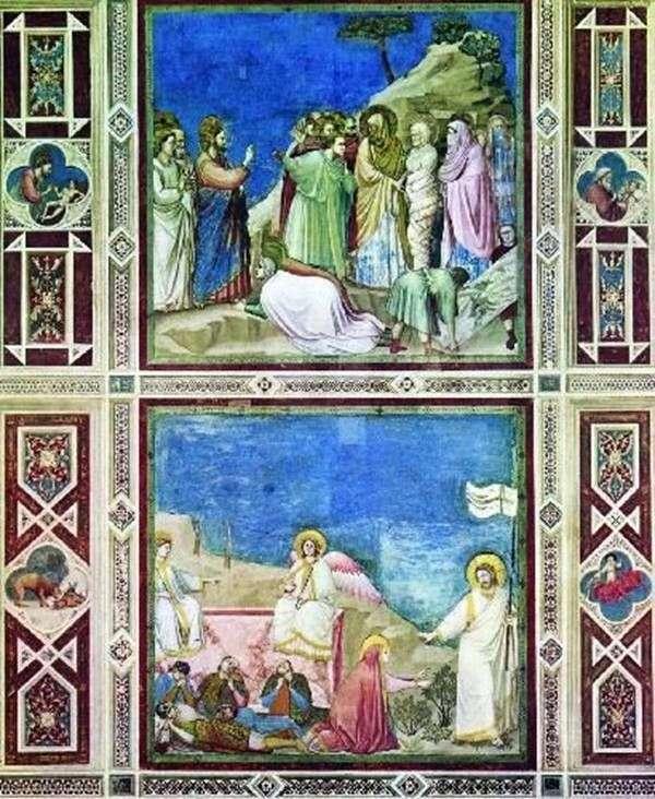 Murale w Chapel del Arena   Giotto di Bondone