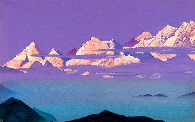 Himalaje. Różowe góry   Nicholas Roerich