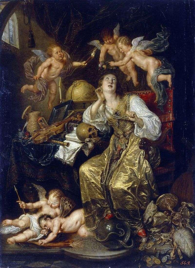 Alegoria roztropności (Alegoria wiary)   David Teniers