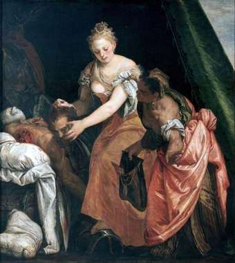 Zabójstwo Holofernesa   Paolo Veronese