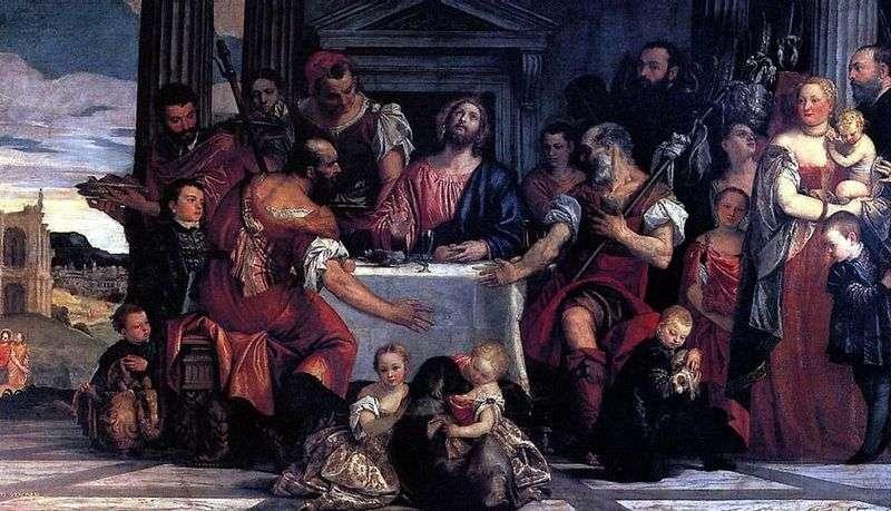 Kolacja w Emmaus   Paolo Veronese