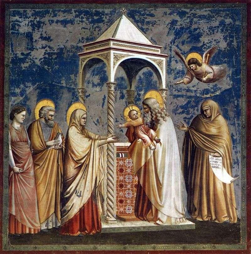 Prezentacja Pana   Giotto