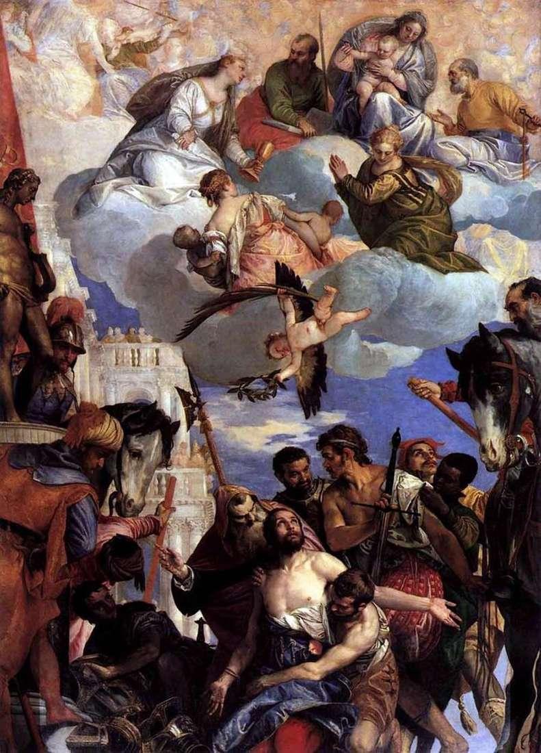 Ofiara św. Jerzego   Paolo Veronese