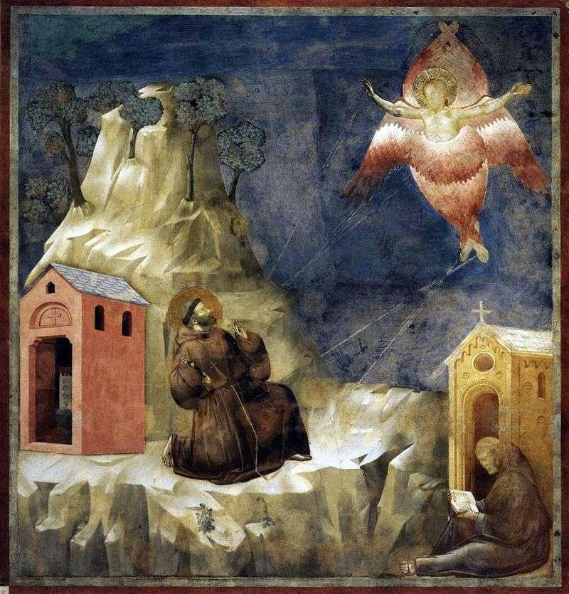 Stygmatyzacja św. Franciszka   Giotta