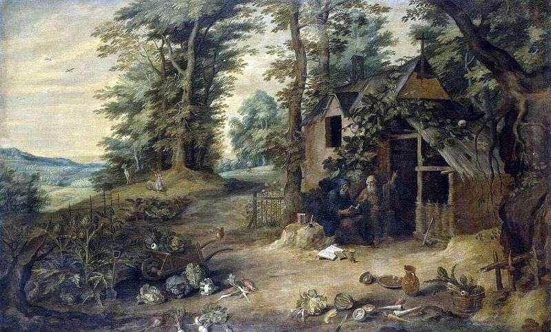 Spotkanie św. Antoniego Wielkiego i Pawła Pustelnika   Dawida Teniera