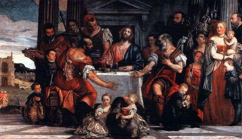 Chrystus w Emmaus   Paolo Veronese