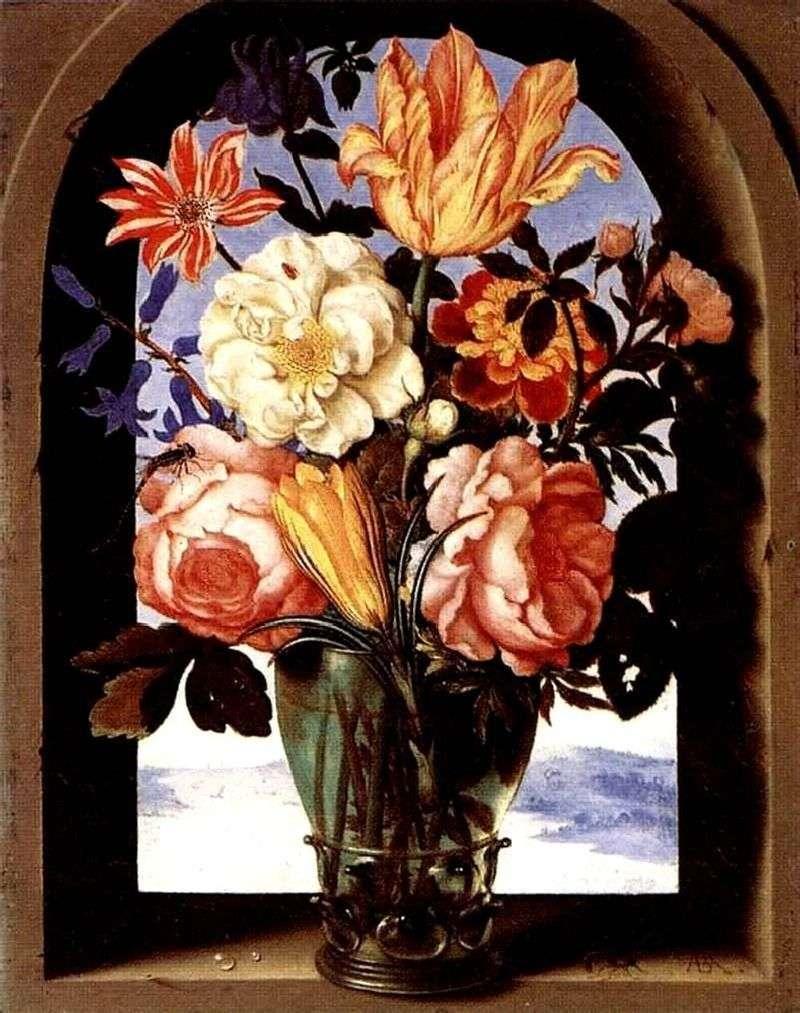 Bukiet kwiatów   Ambrosius Boshart